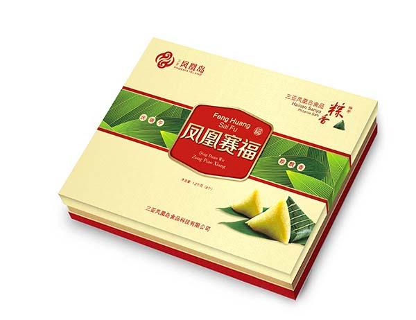 三亚凤凰岛粽子包装_海南包装设计