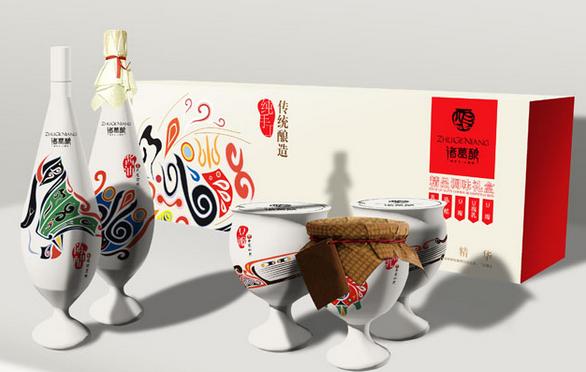 传统工艺的产品大多采用防古的包装设计