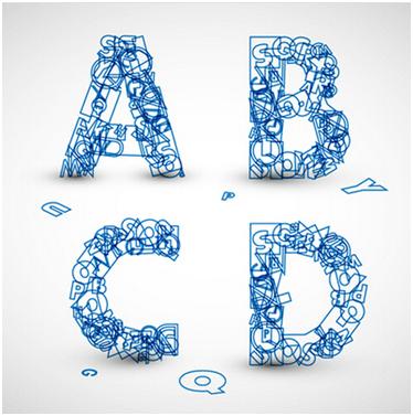 vi设计中的创意字母设计
