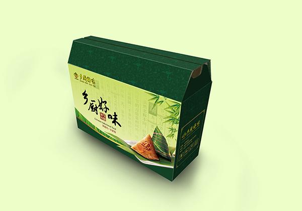 百家客再谈传统风格粽子礼盒包装设计