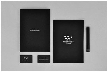 浅析黑白色系高端商务风格vi设计