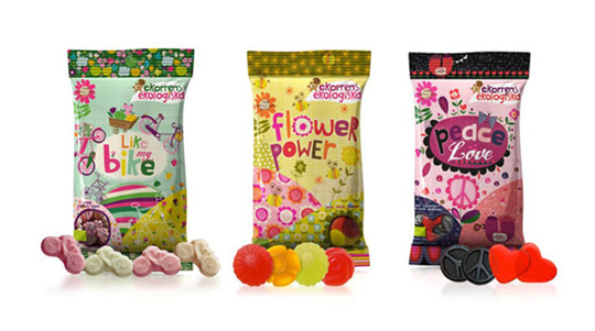 诱人糖果包装设计巧用色彩元素